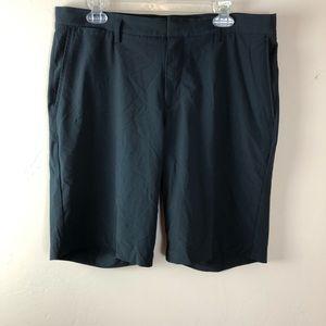 Nike Golf standard fit men's shorts dri fit black
